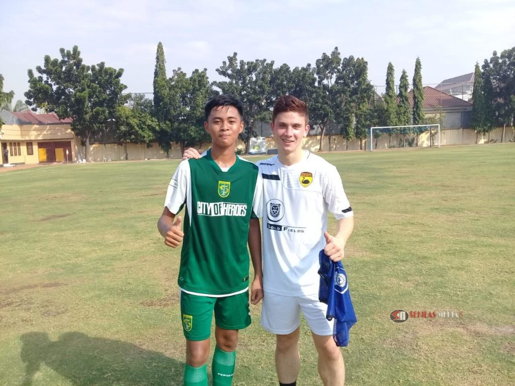 Ahmad Dzaki Akmal Yuda Be Part Persebaya U 16 EPA Persahabatan Gold Fields Men's Australia